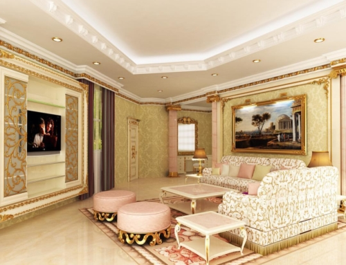 Unique Quality Panda Luxury Dubai Classic Decor Interior Design