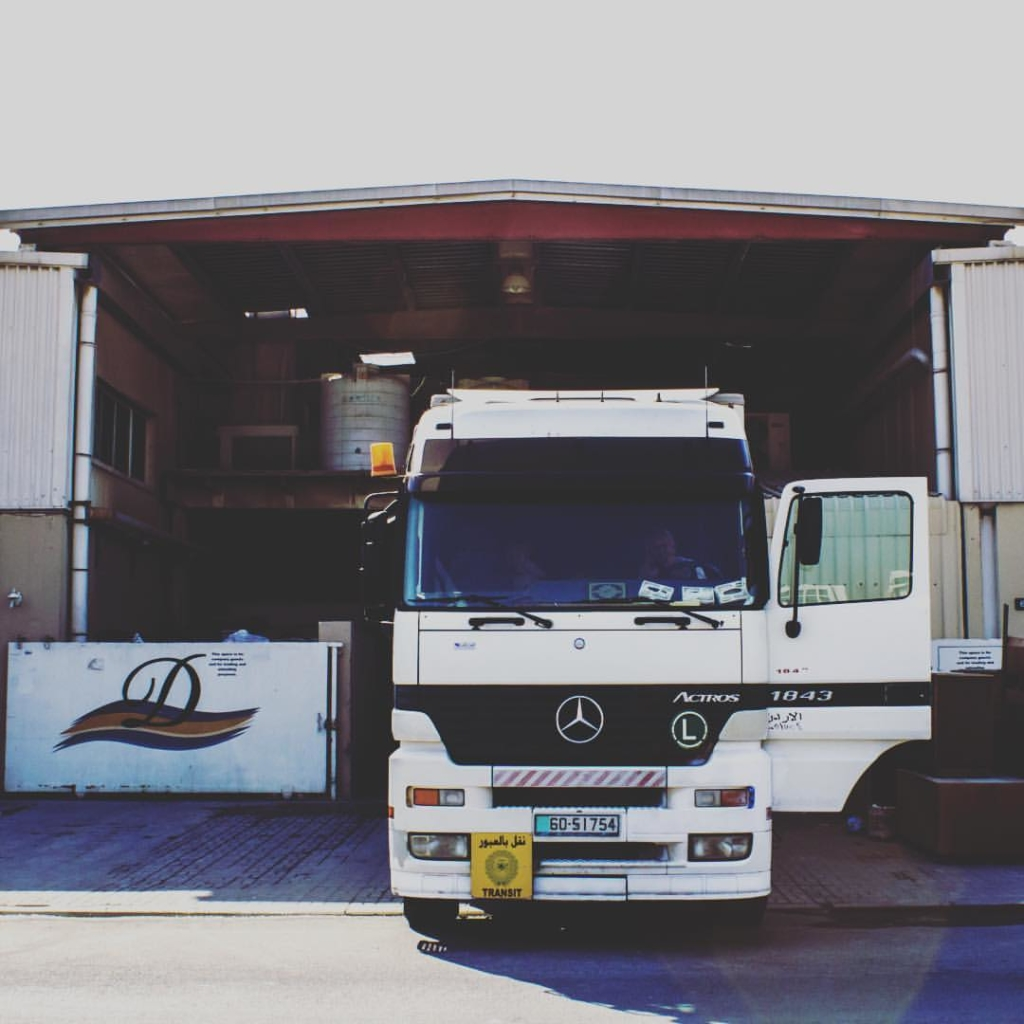 Loading up ... moving to our new factory in Jabal Ali, Dubai in United Arab Emirates