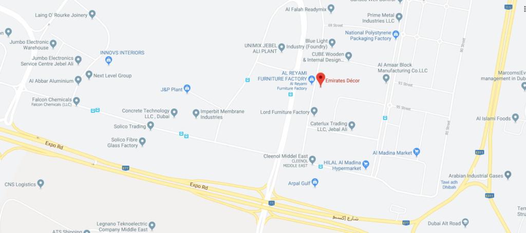 Emirates_Décor_Google_Maps