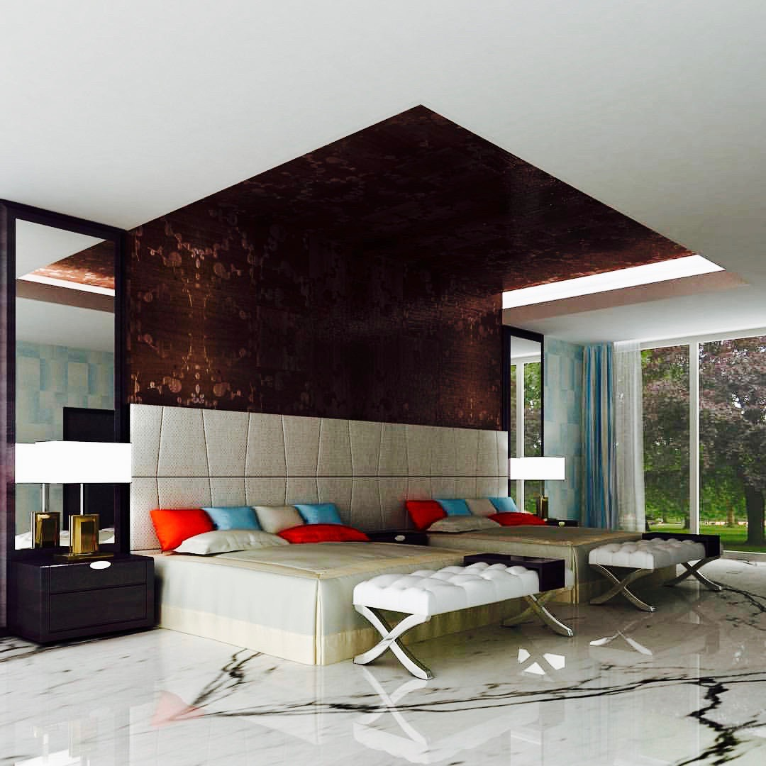 'Good design is obvious. Great design is transparent' - Joe Sparano Good design great luxury unique Dubai decor marble floor goals hand craft work by Emirates Décor
