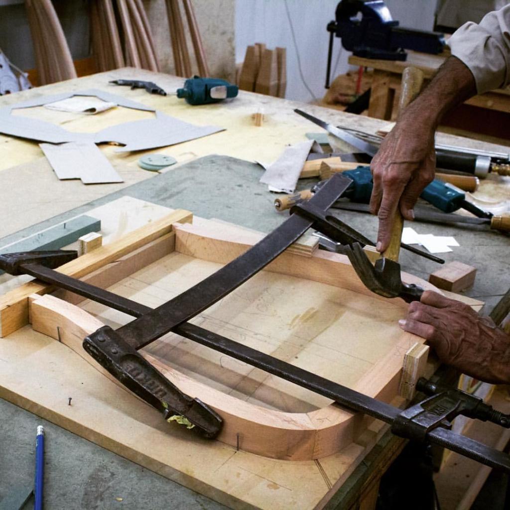 Handcrafting at its finest.. Dubai luxury unique business interior wood work decor designs