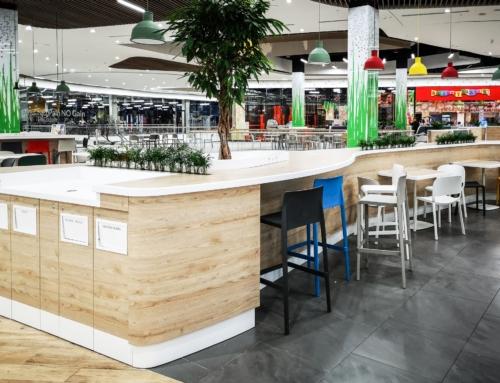 Shopping Mall Poland Foodcourt 5
