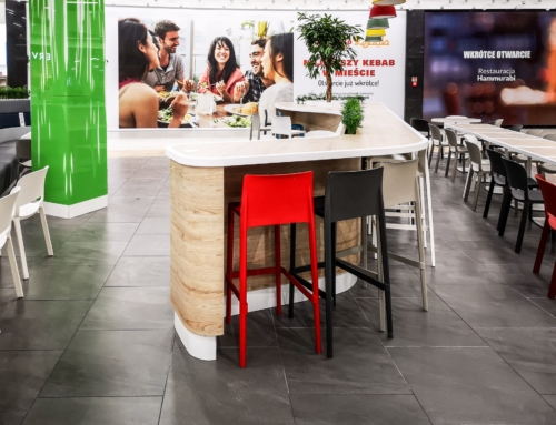 Shopping Mall Poland Foodcourt 9